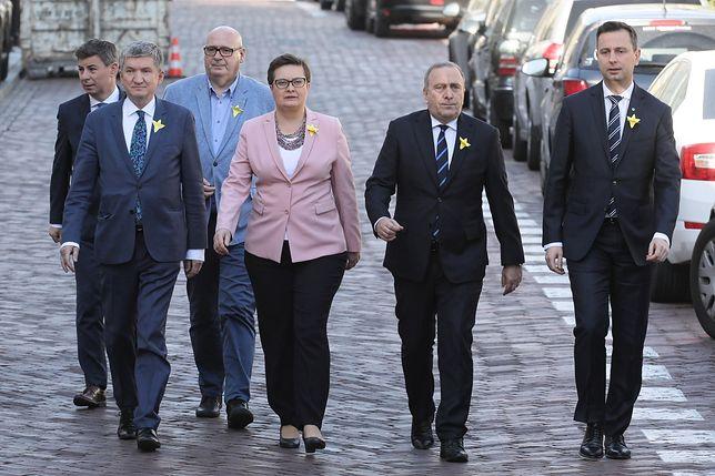 """Strajk nauczycieli. Koalicja Europejska jest na """"nie"""" ws. okrągłego stołu."""
