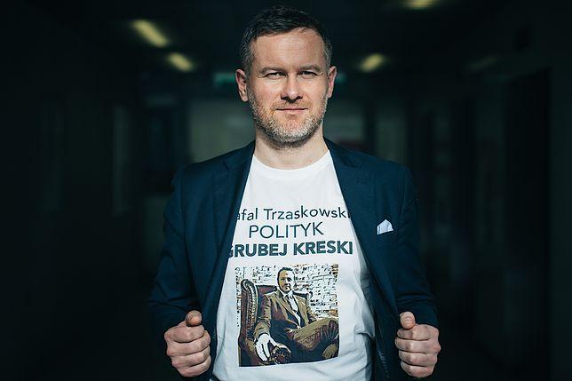 Michał Dzięba, oskarżył Rafała Trzaskowskiego o korupcję polityczną i udział w skandalach obyczajowych