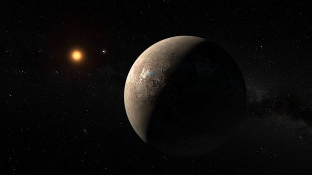 Proxima b to najbliższa nam planeta, na której możliwe jest życie