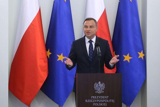 Prezydent: szkalowanie dobrego imienia Polski nie może pozostać bez reakcji