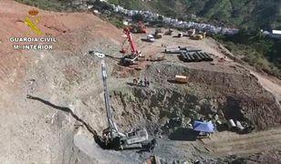 Hiszpania: Opóźnienia w wydobyciu 2,5-letniego Julena z głębokiego odwiertu. Popełniono błąd podczas wiercenia tunelu