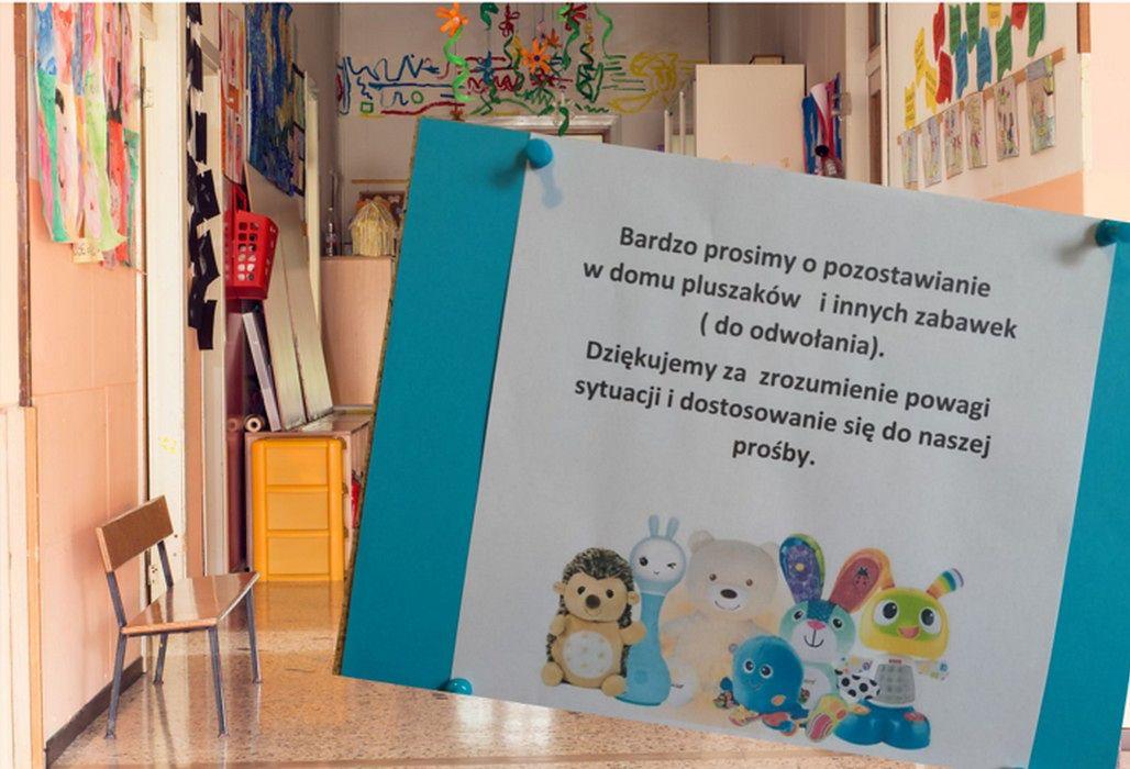 Koronawirus zabrał dzieciom maskotki. Nie mogą przynosić ich do przedszkola
