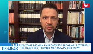 Leszek Miller o szczepieniach na COVID. Komentarz Rafała Trzaskowskiego