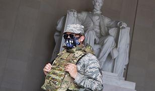 USA. Gwardziści odsunięci od służby przy ochronie inauguracji Joe Bidena. (Photo By Tom Williams/CQ-Roll Call, Inc via Getty Images)