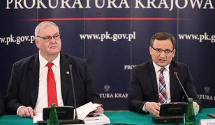 Roman Giertych chce roku więzienia dla zastępcy Zbigniewa Ziobry Bogdana Święczkowskiego (na zdjęciu z lewej)
