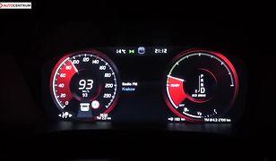 Volvo S60 2.0 T5 250 KM (AT) - pomiar zużycia paliwa