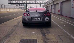 #dziejesiewmoto: Nissan GT-R sterowany pilotem, autobus wpada w poślizg i uszkodzenia mózgu kierowcy wyścigowego