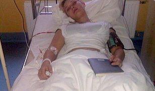 """Gwiazdka """"Top Model"""" w szpitalu. Ma niedowład i paraliż"""