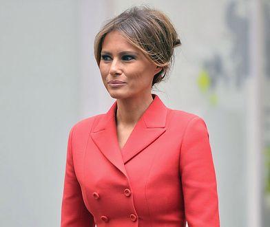 Melania Trump w paryskim szpitalu. Nowa fryzura pierwszej damy?