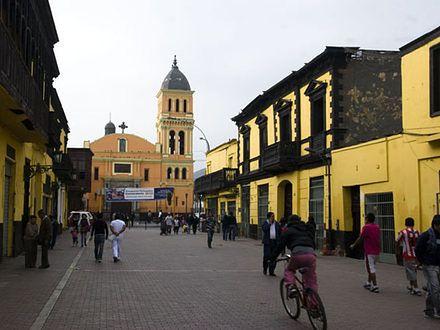 Lima - metropolia ubóstwa