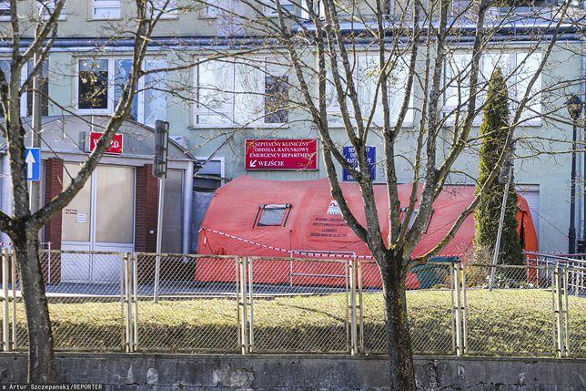 Koronawirus w Polsce. Lekarka ze szpitala w Olsztynie zakażona. Sprawę wyjaśniają śledczy