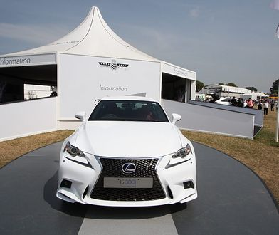 Lexus IS 300h na Goodwood Festival of Speed