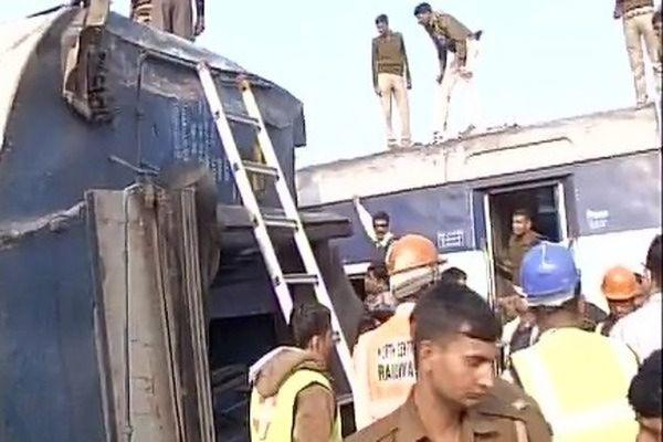 Katastrofa kolejowa w Indiach