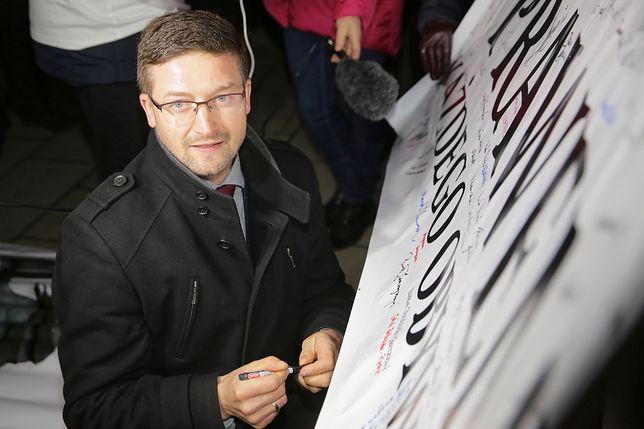 Paweł Juszczyszyn zawieszony. Sędzia Maciej Nawacki tłumaczy, co dalej z jego sprawami