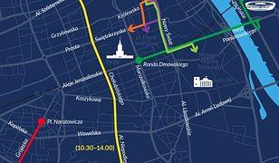 11 listopada. Ogromne utrudnienia. Sprawdź, które ulice będą nieprzejezdne (MAPA)