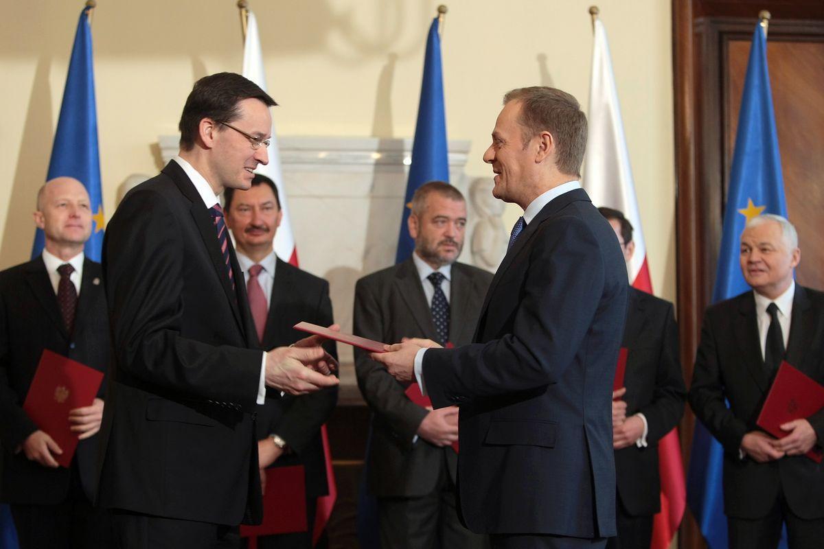 Morawiecki przebił Tuska i Kaczyńskiego. Stworzył PO-PiS