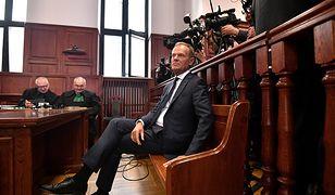 Tusk zeznawał w warszawskim sądzie. Koniec przesłuchania