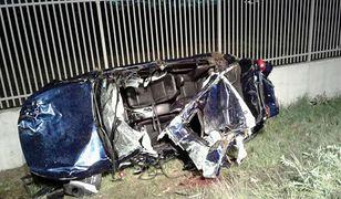Śmiertelny wypadek podczas użyczenia auta marki Infiniti do testów prasowych