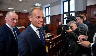 Donald Tusk był przesłuchiwany w procesie organizacji lotu do Smoleńska przez Tomasza Arabskiego pod koniec kwietnia