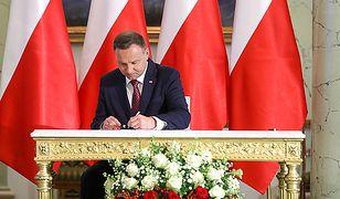 Prezydent Andrzej Duda wysłał Władimirowi Putinowi depeszę kondolencyjną
