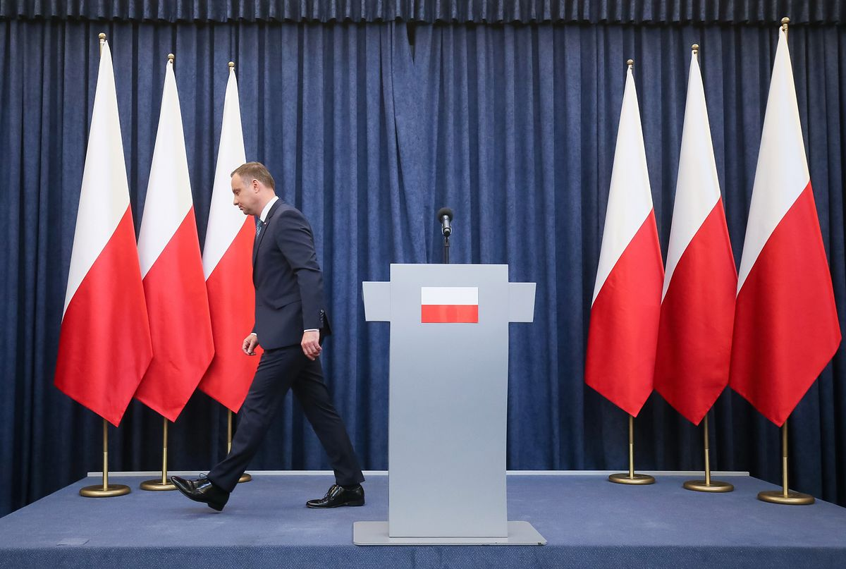 Weto prezydenta Andrzeja Dudy już jutro. Chodzi o zmiany w ordynacji wyborczej do Parlamentu Europejskiego