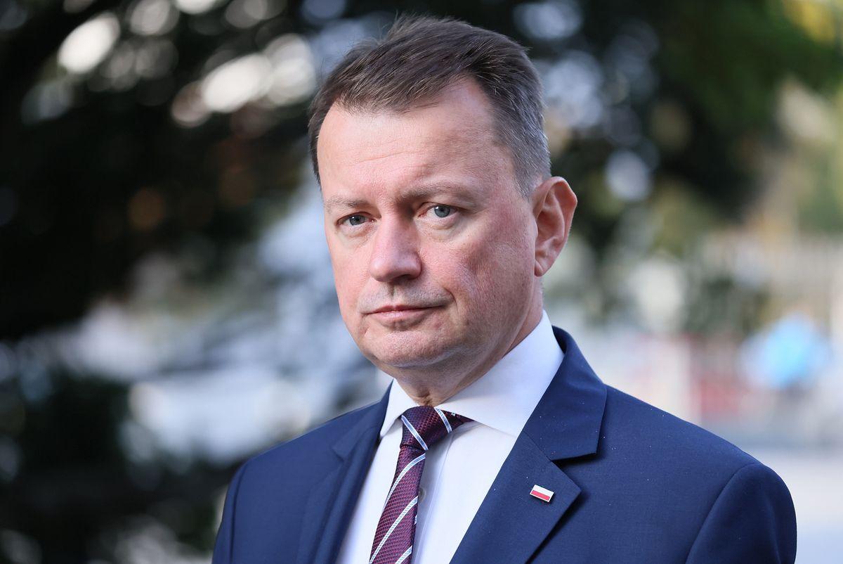 Mariusz Błaszczak potwierdził plan budowy ogrodzenia na granicy z Białorusią