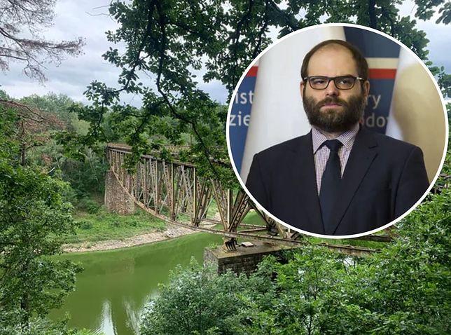 """""""Mission: Impossible"""" w Polsce. Wiceminister kultury o moście Pilchowickim: nie każda stara rzecz to zabytek"""