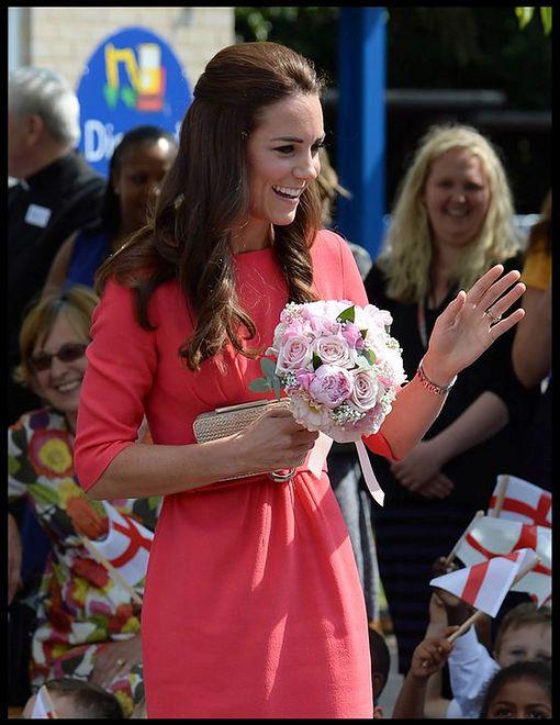 Dzieci uwielbiają księżną Cambridge