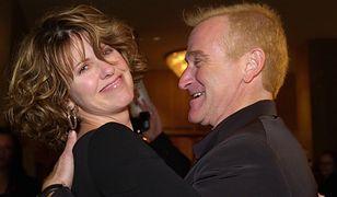 Pam Dawber i Robin Williams w 2000 r.