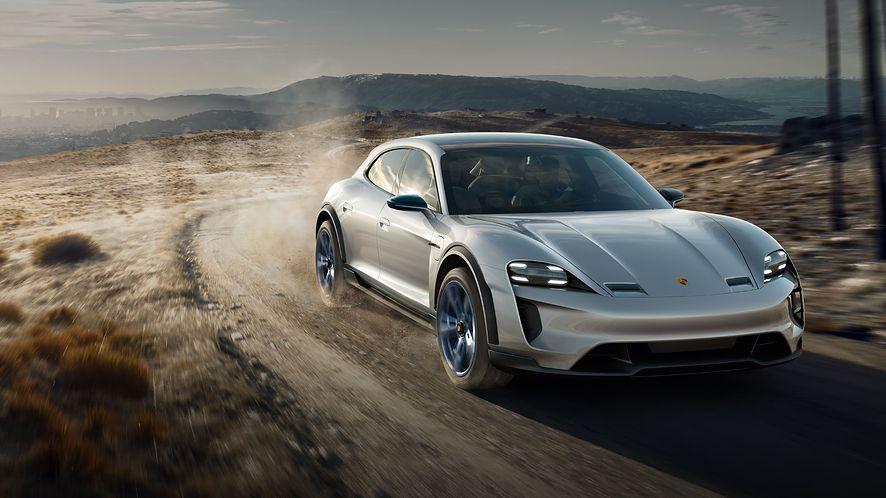 Porsche Taycan to bardzo drogi odtwarzacz Apple Music