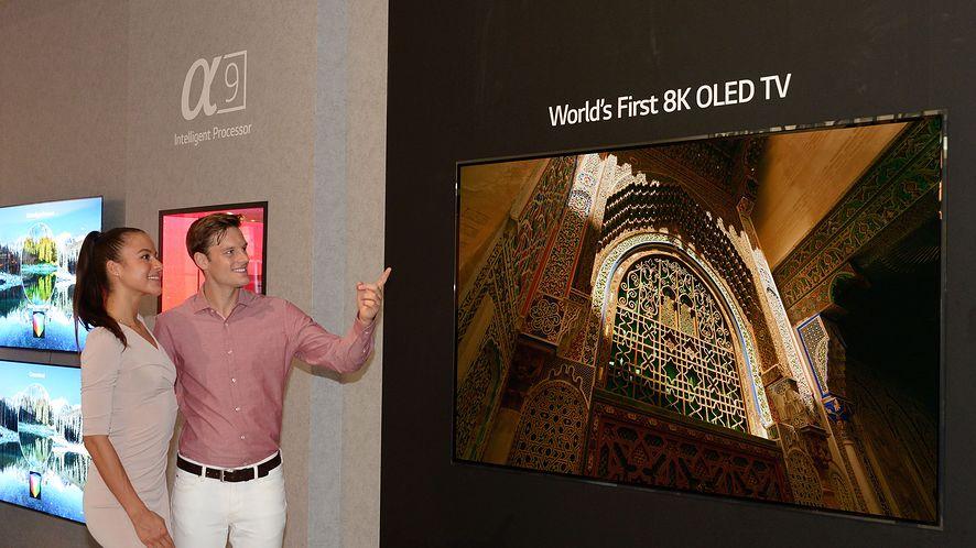 LG zapowiada pierwszy na świecie 88-calowy telewizor OLED o rozdzielczości 8K