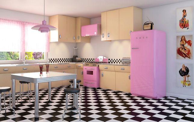 Jak urządzić kuchnię retro w stylu szalonych lat 50.? Aranżacja kuchni