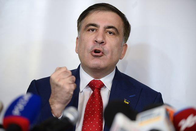 Micheil Saakaszwili przyjechał do Holandii. Pozwał ukraińskie władze