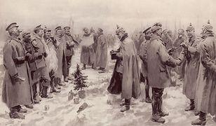 Rozejm bożonarodzeniowy. Zamiast strzelać, żołnierze zaczęli śpiewać kolędy
