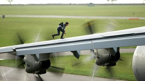 Tom Cruise fot. UIP Tom Cruise fot. UIP
