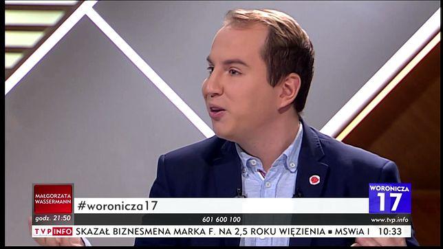 Adam Andruszkiewicz z Kukiz'15 starł się w TVP Info z Andrzejem Halickim z PO.