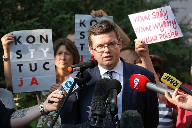 """Prezes """"Iustitii"""" Krystian Markiewicz miał być oczerniany"""
