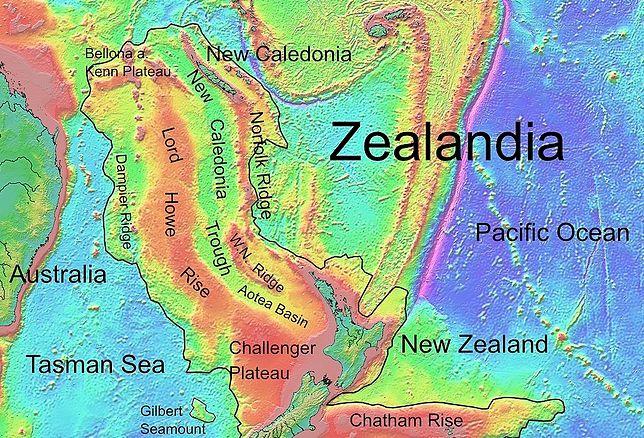 Odkryli zaginiony kontynent. Teraz Zelandia odsłoniła swoje tajemnice