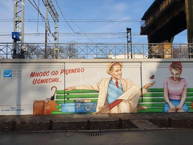 Kontrowersyjny mural w Gdańsku Wrzeszczu