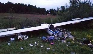 Katastrofa szybowca w Polsce. 18-letni pilot jest w ciężkim stanie