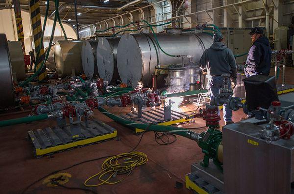 Urządzenia do neutralizacji broni chemicznej na pokładzie amerykańskiego statku Cape Ray