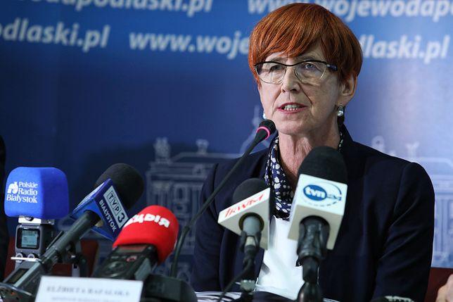 Elżbieta Rafalska, minister rodziny, pracy i polityki społecznej