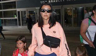 Kourtney Kardashian została dresiarą. Fatalna stylizacja celebrytki