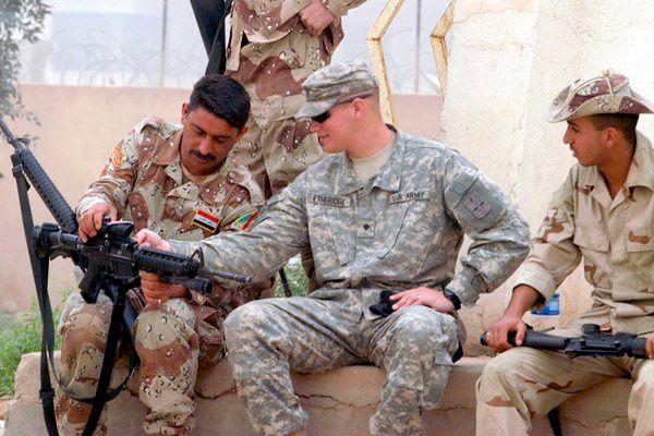 USA wspierają armię iracką w walce z dżihadystami