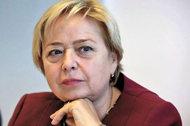 Małgorzata Gersdorf idzie na urlop