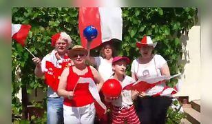 Rodzina Sandeckich, jak wiele innych, kibicuje Biało-Czerwonym