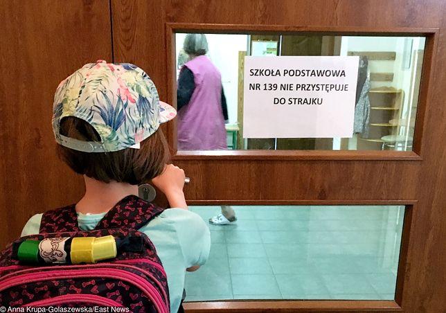 Nie wszystkie szkoły uczestniczyły w strajku. Zdjęcie ilustracyjne