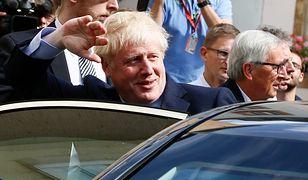 Brexit. Boris Johnson, premier Wielkiej Brytanii po spotkaniu w Luksemburgu