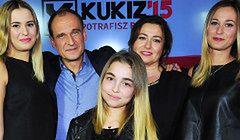 Wybory 2015: Żona i córki Pawła Kukiza
