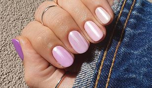 Efekt syrenki na paznokciach wraca tego lata. Ten hybrydowy manicure dopełni letnie stylizacje